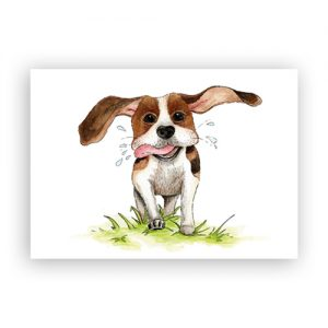 beagle-hond-illustraver