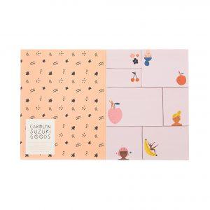 carolyn-suzuki-fruity-femmes-sticky-notes-stationery