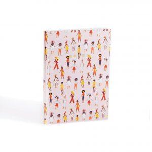notes-notitie-notitieschrift-walking-ladies-lopende-vrouwen