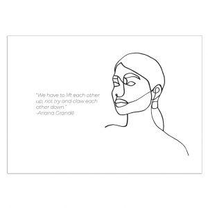 ariana-grande-kaart-inspiring-women