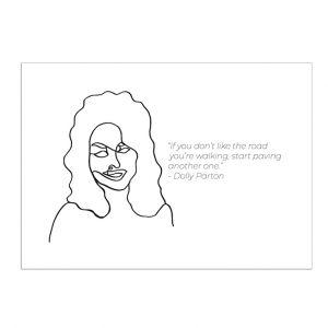 dolly-parton-kaart-inspiring-women