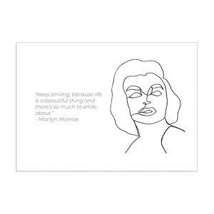 marilyn-monroe-kaart-inspiring-women