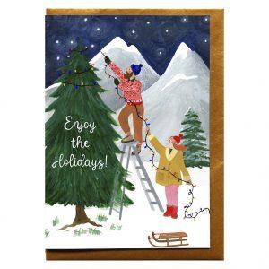 reddish-design-kerst-kaart-enjoy-holiday